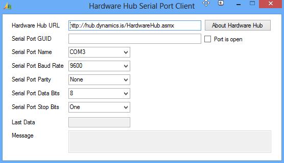 HubSerialPortClient