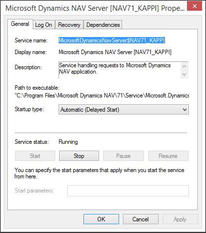 NAVServiceStartupType