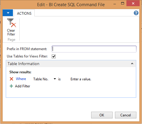 SQLCreate