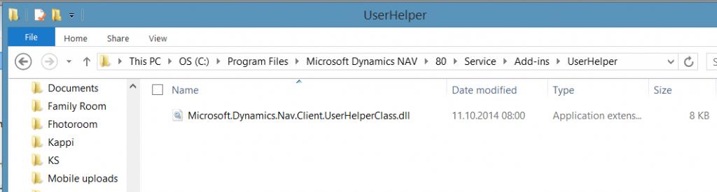 UserHelperFolder